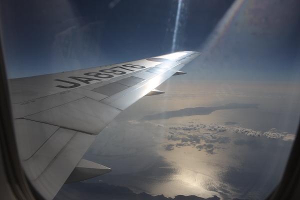 機上的一景