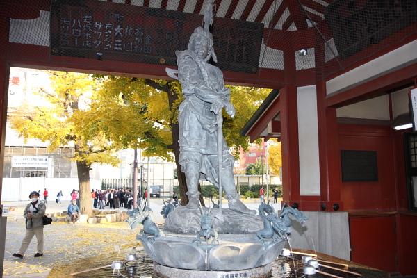沙竭羅龍王像