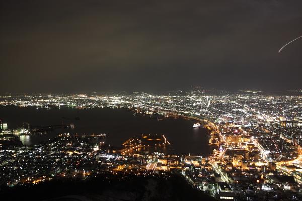 函館的夜景