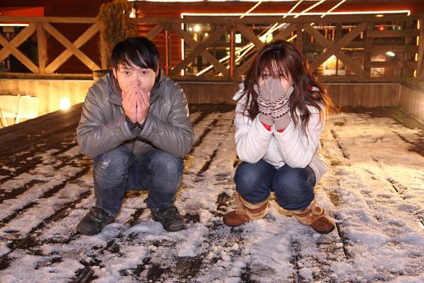 好冷的天氣